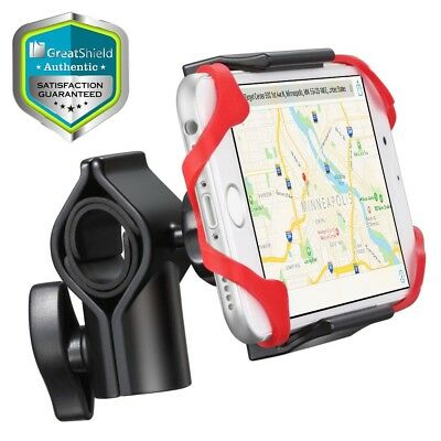Adjustable Clip Grip Strap Bicycle Bike Holder Mount iPhone X 8 Plus Galaxy S9+