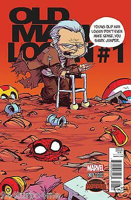 Marvel Comics OLD MAN LOGAN #1 Scotty Young Variant (2015)