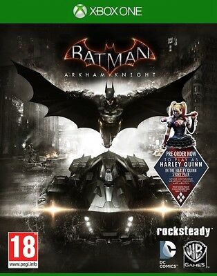 Batman Arkham Knight Day One Edition Xbox One Action Game Brand New Sealed