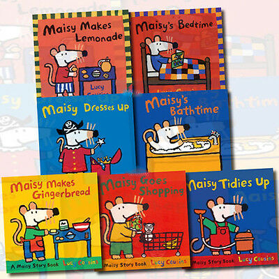 Maisy Mouse Loves Collection Lucy Cousins 7 Books Set Pack