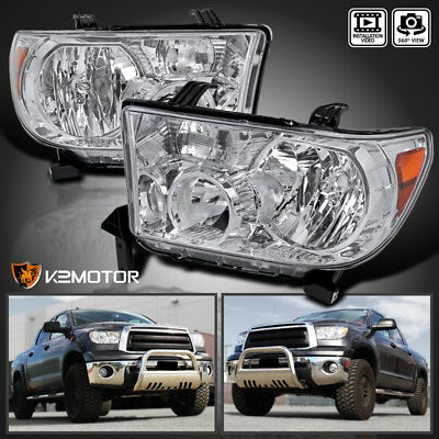 For 2007-2013 Toyota Tundra 2008-2014 Sequoia Replacement Headlights Left+Right