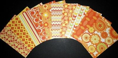*CITRUS HUES* Colourful Scrapbooking/Cardmaking Papers - Sugar & Spice Studio