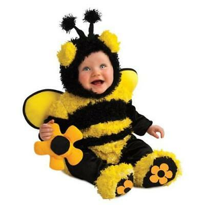 Rubie's Costume Noah's Ark Buzzy Bee Romper Costume, Yellow, 6-12 Months New