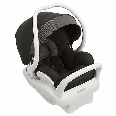 Maxi-Cosi 2015 Mico MAX 30 Infant Car Seat - White Collection Devoted Black New!