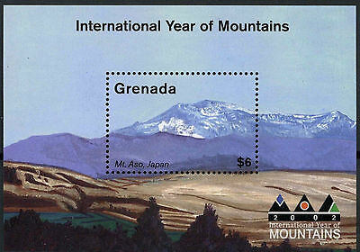 Grenada 2002 SG#MS4709 Year Of Mountains MNH M/S #A87958