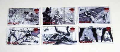 1997 Skybox Batman & Robin Widevision Storyboard Series 2 Promo Set (6) Nm/Mt