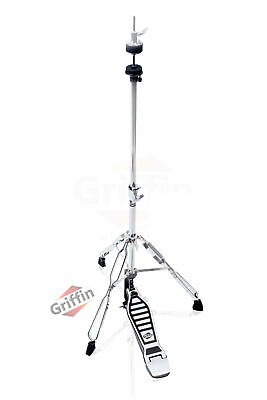 Hi-Hat Stand - Griffin HiHat Cymbal Hardware Drum Pedal Holder Mount Percussion