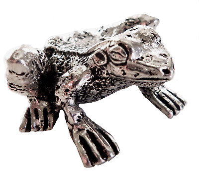 Frog Pewter Ornament - Hand Made in Cornwall - SF12