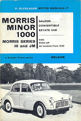 Morris Minor 1000 - Olysager Guide to all models from 1956