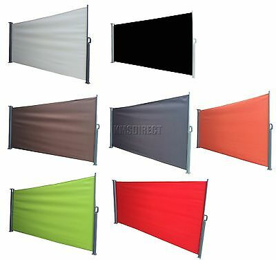 FoxHunter Garden Patio Sunshade Blind Retractable Side Awning Outdoor Screen New