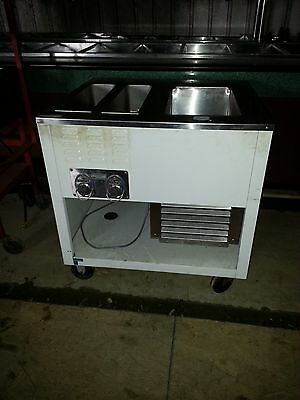 Wells Self Contained Warming Table & Refrigerated Well Unit Ice Cream Toppings