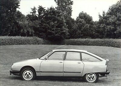 Citroen GS X3 1979 original Large press photo A