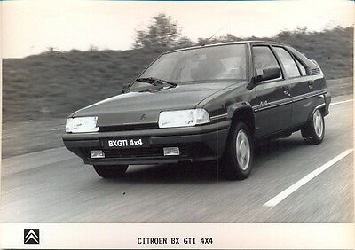 Citroen BX GTI 4x4 - original press photo