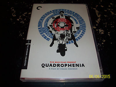 Criterion Collection: Quadrophenia!! Used & In Mint Condition!! The Who!! Oop!!!
