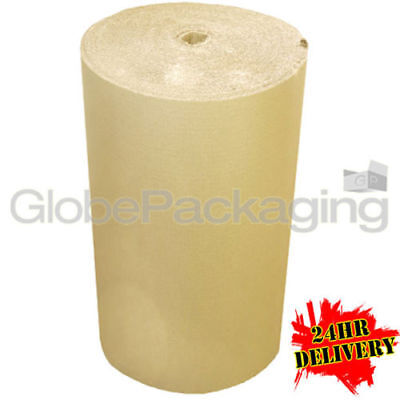 1500mm x 75m CORRUGATED CARDBOARD PAPER ROLL 75 METRES - STRONG PACKAGING 24HRS