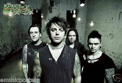 "Bullet For My Valentine ""group Standing In Empty Room"" Poster From Asia"
