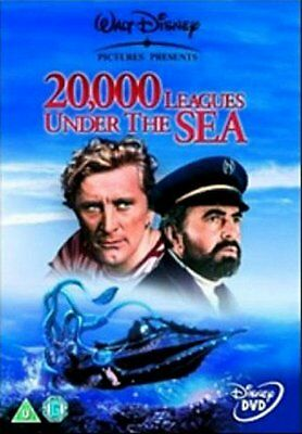 20000 Leagues Under The Sea - Sealed NEW DVD - James Mason