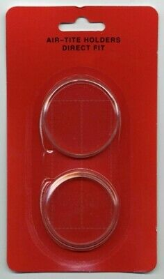 1 Airtite Coin Holder Capsule Direct Fit H38 Morgan / Peace / Ike / Maple 1 Oz