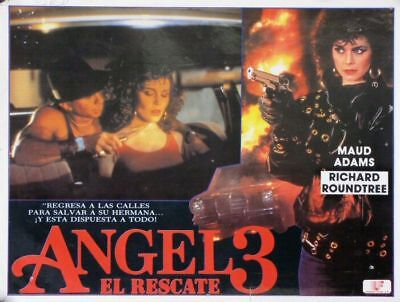 L380 Angel III The Final Chapter, Mexican Lobby Card