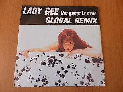 "12"" LADY GEE - THE GAME IS OVER (The global remix) 1995"