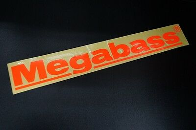 Megabass CUTTING STICKER 30cm #ORANGE