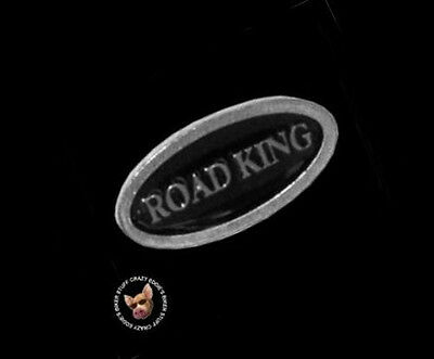 Road King Vest Pin  * Made In The Usa * Motorcycle Biker Jacket Pin
