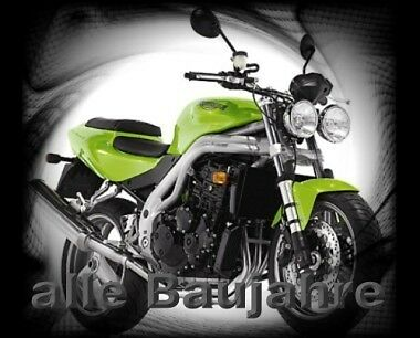 Aufkleber-Logo-Set Triumph Speed Triple