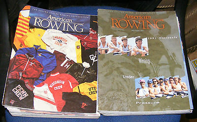 American Rowing Magazine Various Issues