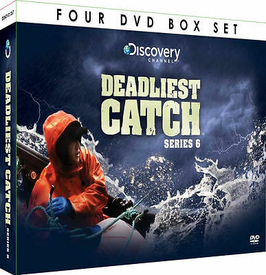 Deadliest Catch - Complete Series 6 (SIX) - 4 DVD BOX SET -100 COPIES WHOLESALE