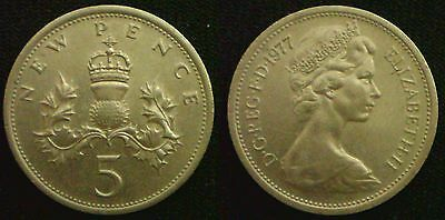 Large 5 Pence 1968 - 89 Choose your item DISCOUNTS UP TO 10% AVAILABLE