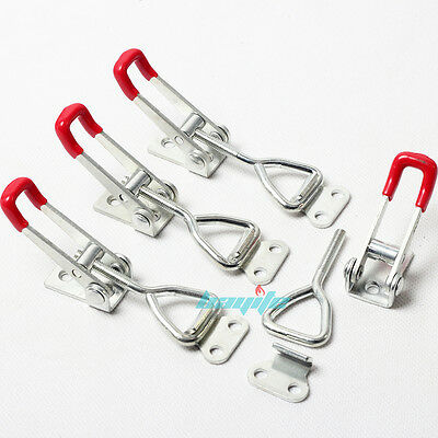 4PCS Quick Metal Hold Holding Capacity Latch Hand Tool Toggle Clamp 4001 360lbs