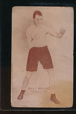 1925-29 Exhibits Billy Wallace Fr/gd; Cleveland; Post Card Back  Multi Creases