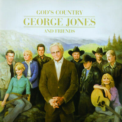 Various Artists : God's Country: George Jones and Friends CD (2013) ***NEW***