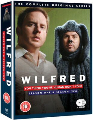 Wilfred: The Complete Series 1 and 2 DVD (2012) Jason Gann ***NEW***
