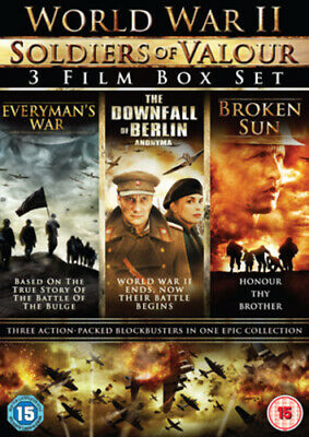 World War II - Soldiers of Valour Box Set DVD (2011) Cole Carson ***NEW***