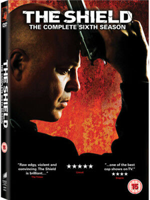 The Shield: Series 6 DVD (2012) Michael Chiklis ***NEW***