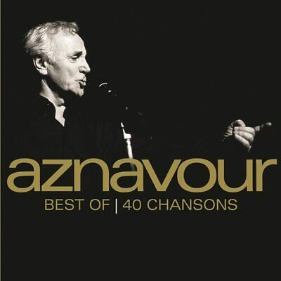 Charles Aznavour : Best of 40 Chansons CD (2013) ***NEW***