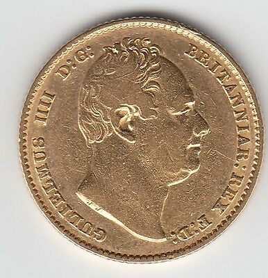 1832 William IV Gold Sovereign