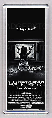 POLTERGEIST movie poster LARGE 'WIDE' FRIDGE MAGNET - The 82' HORROR CLASSIC!
