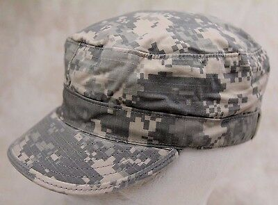 c54259a8be7 Genuine Us Army Issue Patrol Cap Acu Digital Camouflage Ripstop Made In Usa
