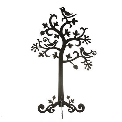 Black Metal Holder Display Stand for Pendant Earrings Home Decor Jewelry Tree