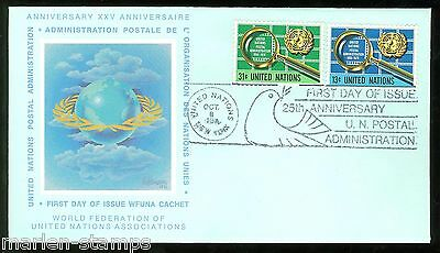 United Nations Wfuna Ole Hamann Cacheted First Day Covers