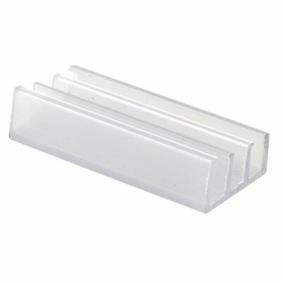 Prime-Line Products M 6089 Shower Door Bottom Guide, Nylon,(Pack of 2) New