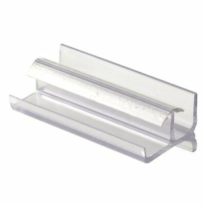 Prime-Line Products M 6144 Shower Door Bottom Guide, Clear New