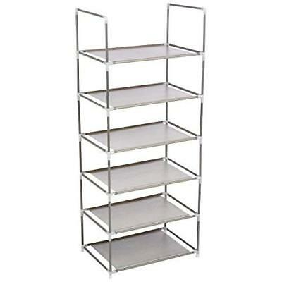 Origami RS6-04 6 Tier Multi Purpose Shelf, Pack of 4 New