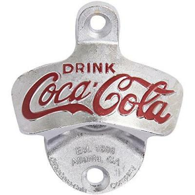 TableCraft Coca-Cola Wall Mount Bottle Opener (CC341) New