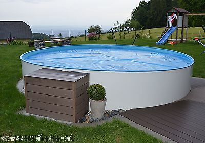 pool set rund 4 50 x 1 20 m mit sandfilter stahlwand. Black Bedroom Furniture Sets. Home Design Ideas