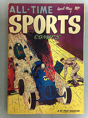 All Time Sports Comics (1949) #4  Hillman Publication John Sullivan Boxer