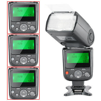 Neewer NW-670 TTL Flash Speedlite with LCD Display for Canon 100D,80D,70D,60D