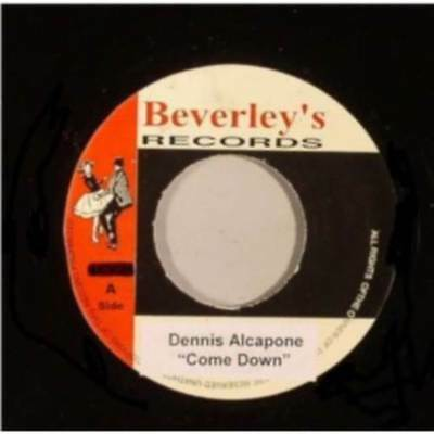 "DENNIS ALCAPONE - Come Down + Version  7"" Jamaica"